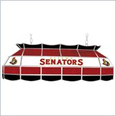 Trademark NHL Ottawa Senators Stained Glass 40 Lighting Fixture