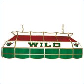 Trademark NHL Minnesota Wild Stained Glass 40 Lighting Fixture