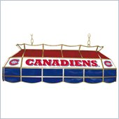 Trademark NHL Montreal Canadians Stained Glass 40 Lighting Fixture