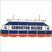 Trademark NHL Edmonton Oilers Stained Glass 40  Lighting Fixture