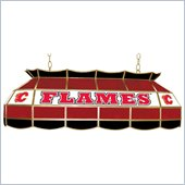 Trademark NHL Calgary Flames Stained Glass 40 Lighting Fixture