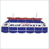 Trademark NHL Columbus Blue Jackets Stained Glass 40 Lighting Fixture