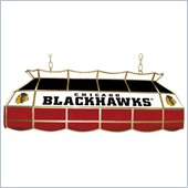 Trademark NHL Chicago Blackhawks Stained Glass 40 Lighting Fixture