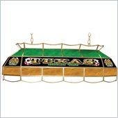 Trademark Texas Hold 'em Stained Glass 40 Lighting Fixture