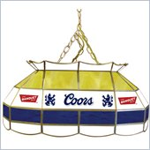 Trademark Coors Banquet 28 Stained Glass Pool Table Lamp
