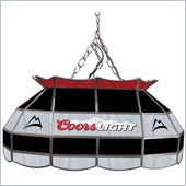Trademark Coors Light 28 Stained Glass Pool Table Lamp