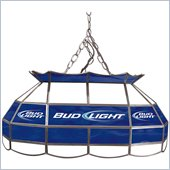 Trademark Bud Light 28 Stained Glass Pool Table Light