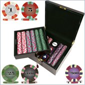 Trademark 750 Chip NexGenT PRO Classic Series Poker Set With Wood Case