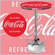 ADD TO YOUR SET: Trademark Coca Cola Vintage Pub Table