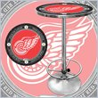 ADD TO YOUR SET: Trademark NHL Vintage Detroit Redwings Pub Table