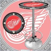 Trademark NHL Vintage Detroit Redwings Pub Table