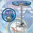 ADD TO YOUR SET: Trademark US Navy Pub Table