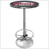 Trademark Global 28 Round Coors Light Pub Table