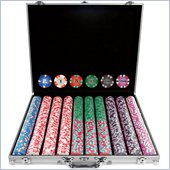 Trademark 1000 Chip NexGenT PRO Classic Style Poker Set With Aluminum Case