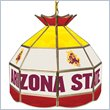 ADD TO YOUR SET: Trademark Arizona State University Stained Glass 16 Inch Tiffany Lamp