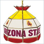 Trademark Arizona State University Stained Glass 16 Inch Tiffany Lamp