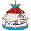 ADD TO YOUR SET: Trademark Gonzaga University Stained Glass 16 Inch Tiffany Lamp
