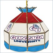Trademark Gonzaga University Stained Glass 16 Inch Tiffany Lamp