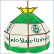 ADD TO YOUR SET: Trademark Colorado State University Stained Glass 16 Inch Tiffany Lamp