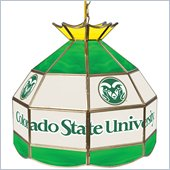 Trademark Colorado State University Stained Glass 16 Inch Tiffany Lamp