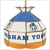Trademark BYU Stained Glass 16 Inch Tiffany Lamp