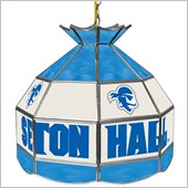 Trademark Seton Hall University Stained Glass Tiffany Lamp - 16 Inch
