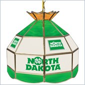 Trademark University of North Dakota Stained Glass Tiffany Lamp - 16 Inch