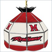 Trademark Miami University, Ohio Stained Glass Tiffany Lamp - 16 Inch