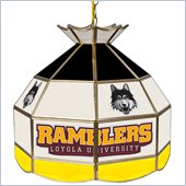 Trademark Loyola University Chicago Stained Glass Tiffany Lamp-16 Inch