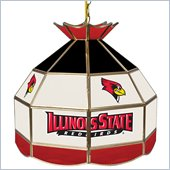 Trademark Illinois State U Stained Glass Tiffany Lamp - 16 Inch