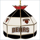 Trademark Brown University Stained Glass Tiffany Lamp - 16 Inch