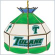 ADD TO YOUR SET: Trademark Tulane University Stained Glass Tiffany Lamp - 16 Inch