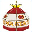 ADD TO YOUR SET: Trademark Iowa State University Stained Glass Tiffany Lamp - 16 Inch