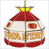 Trademark Iowa State University Stained Glass Tiffany Lamp - 16 Inch