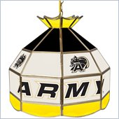 Trademark Army Stained Glass Tiffany Lamp - 16 Inch