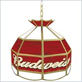 Trademark Budweiser 16 inch Tiffany Lamp Light Fixture