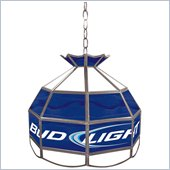 Trademark Bud Light 16 inch Budweiser Tiffany Lamp Light Fixture