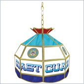 Trademark United States Coast Guard Stained Glass Tiffany Lamp