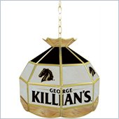 Trademark George Killians Stained Glass Tiffany Lamp - 16 inch