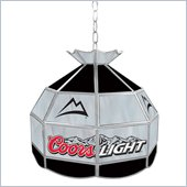 Trademark Coors Light Stained Glass Tiffany Lamp - 16 inch diameter