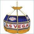 ADD TO YOUR SET: Trademark Las Vegas Stained Glass Tiffany Lamp - 16 inch diameter
