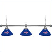 Trademark NHL Washington Capitals 60 Inch 3 Shade Billiard Lamp
