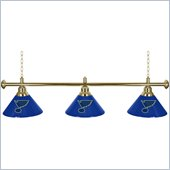 Trademark NHL St. Louis Blues 60 Inch 3 Shade Billiard Lamp