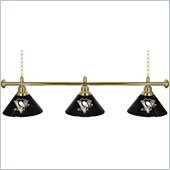 Trademark NHL Pittsburgh Penguins 60 Inch 3 Shade Billiard Lamp