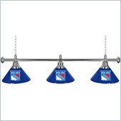 Trademark NHLNew York Rangers 60 Inch 3 Shade Billiard Lamp
