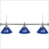 Trademark NHL Colorado Avalanche 60 Inch 3 Shade Billiard Lamp
