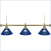 Trademark NHL Buffalo Sabres 60 Inch 3 Shade Billiard Lamp