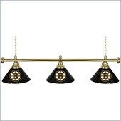 Trademark NHL Boston Bruins 60 Inch 3 Shade Billiard Lamp