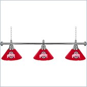 Trademark Ohio State University 60 Inch 3 Shade Billiard Lamp
