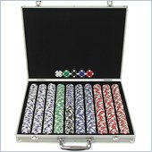 Trademark 1000 Ace/King Suited 11.5g Poker Chip Set with Aluminum Case